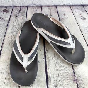 Adidas Foam Flip Flops Sandals Size 8